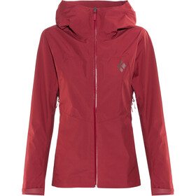 Black Diamond Liquid Point - Veste Femme - rouge